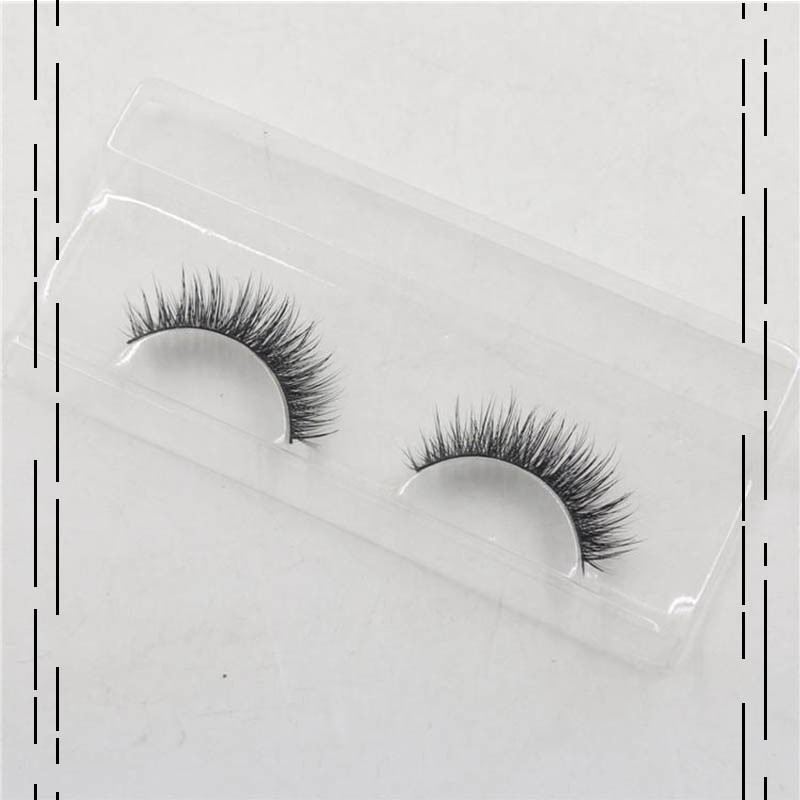 False Eyelashes Handmade Natural Long Thick Mink Fur Eyelashes Soft Fake Eye Lash