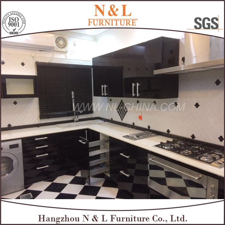 N&L High Gloss MDF Acrylic Kitchen Cabinet