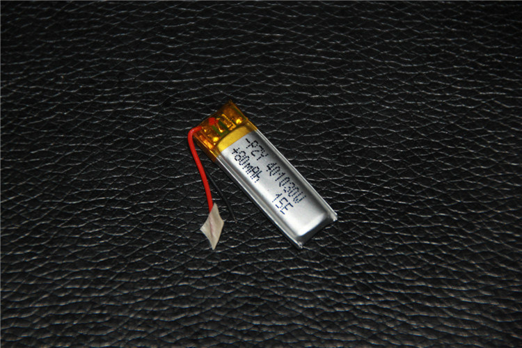 401030 3.7V 80mAh Li-Po Battery Rechargeable Battery with Protect Circuit for Toy Bluetooth Digital Product
