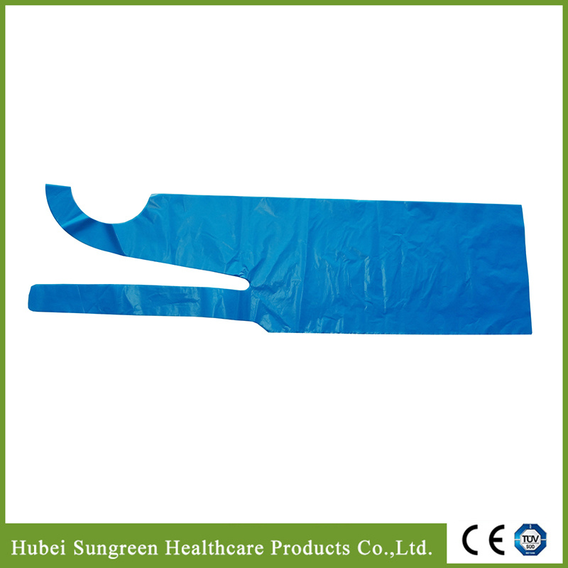 High Quality Waterproof PE Plastic Apron for Household