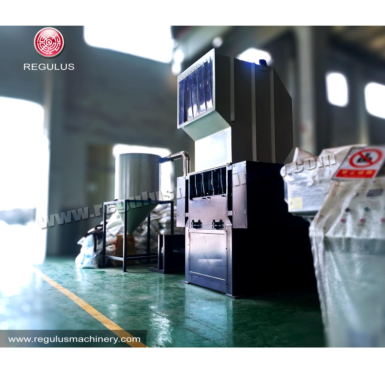 Hot Sale Plastic Crusher with Cyclone Hopper/Plastic Scraps Crusher