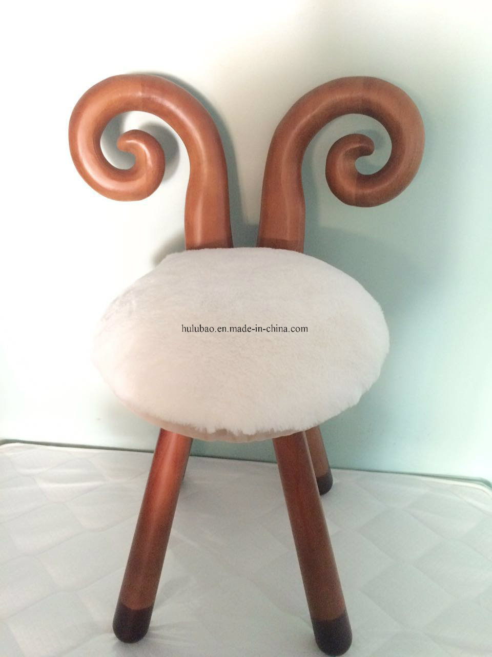 Solid Wood Baby Chair Children Furniture Baby Furniture Animal Stool Cow Stool Sheep Stool Bambi Stool Rabbit Stool