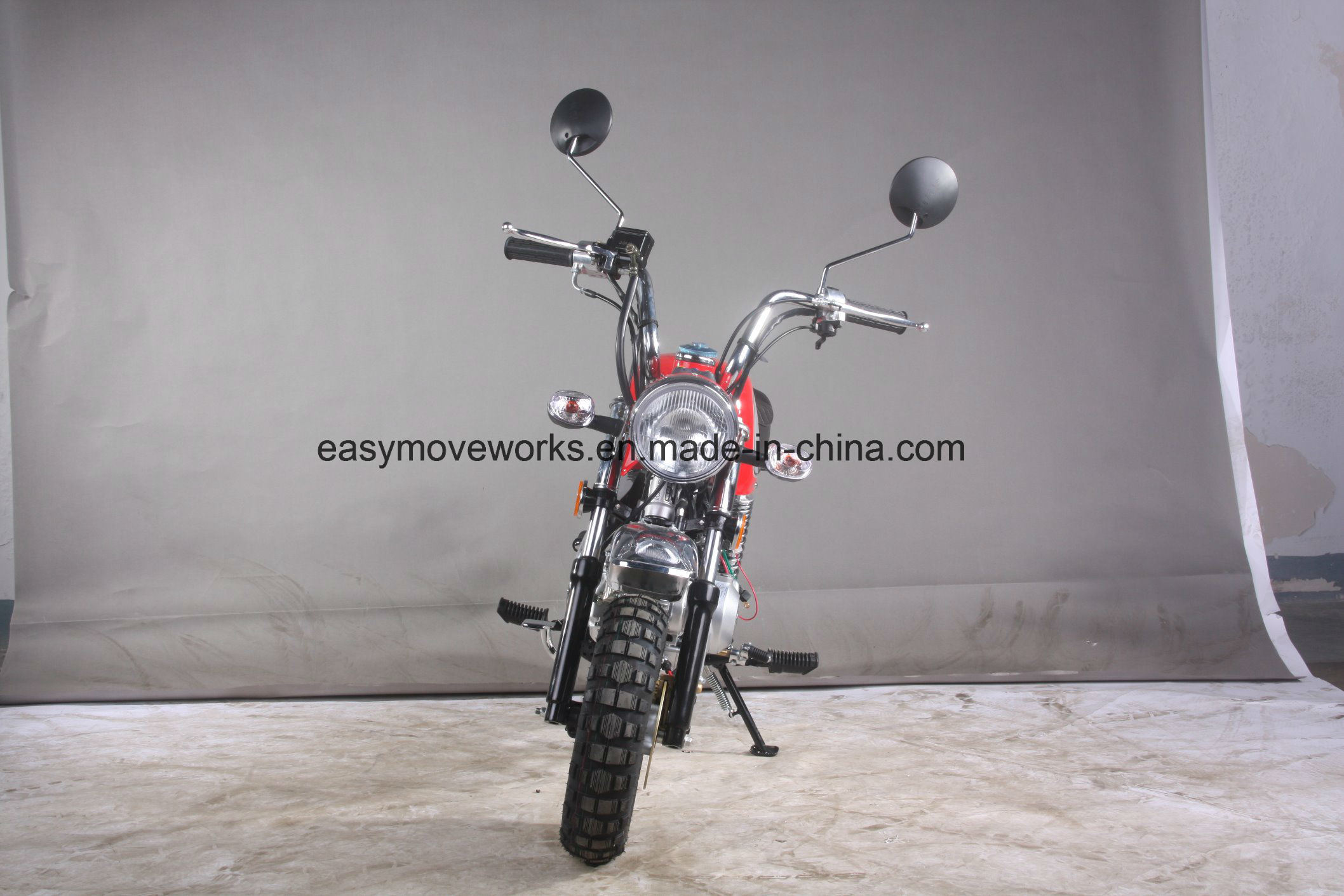 Zhenhua Classic Motorcycle Monkey Bike 125cc Euro4 Big Tank