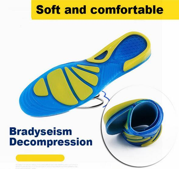 Sport Insoles Shock Absorption Pads Running Sport Shoes Inserts Breathable Insoles