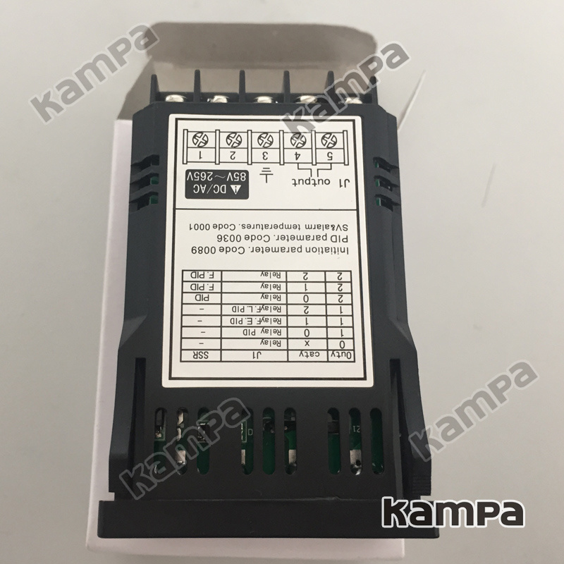 Size 48*24mm Pid Digital Temperature Controller Rtd Thermocouple (XMT7100)