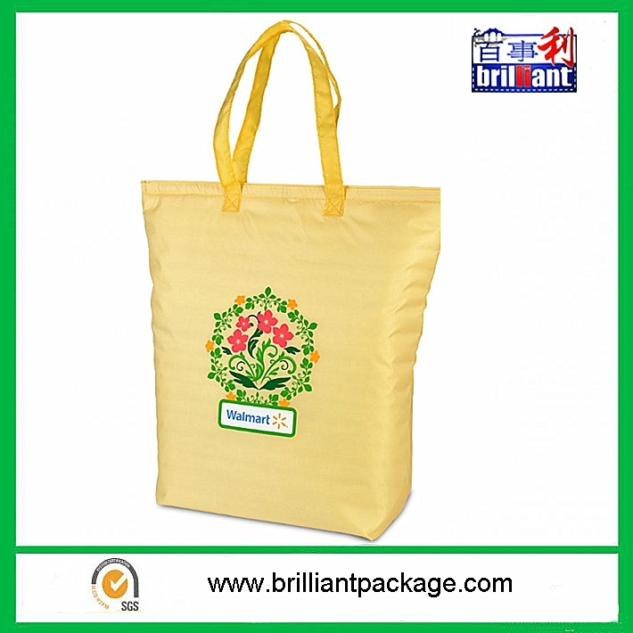 Non Woven Fashion Travel Cooler Bag, Fabrics Shopping Ice Bag for Packing