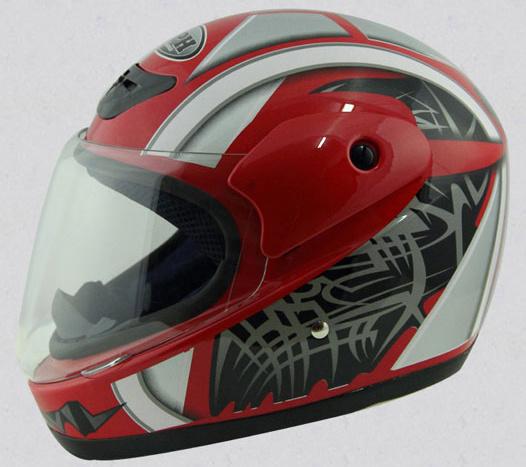 Full Face of Helmet