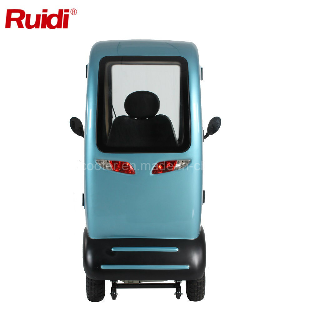 Covered Electric Scooter Cabin 1400W Mobility Scooter