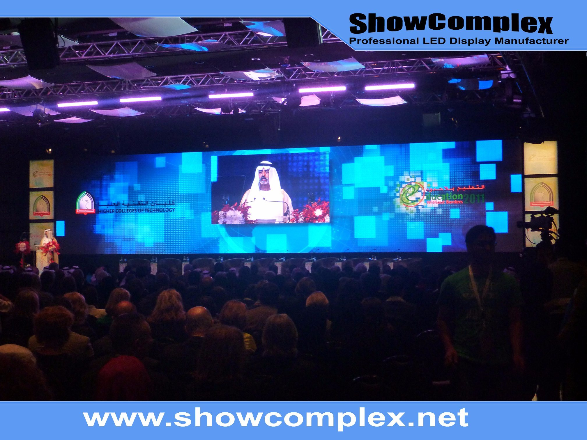 Indoor Full Color Stage LED Display Screen with High Contrast (P2.5)