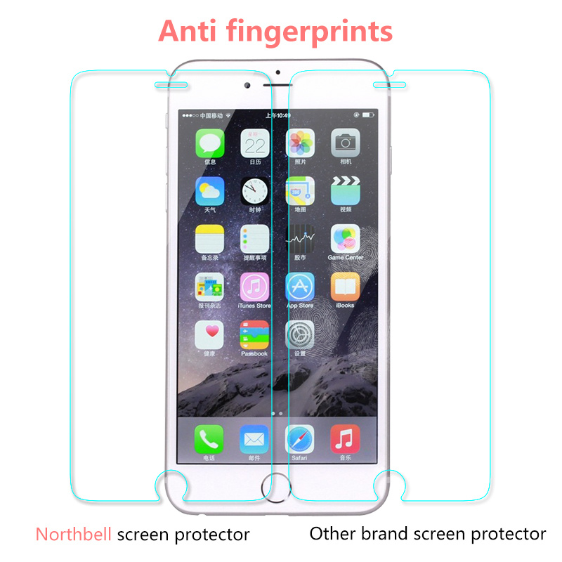 Scratch Resistance Phone Accessories Screen Protector for iPhone 6 Plus