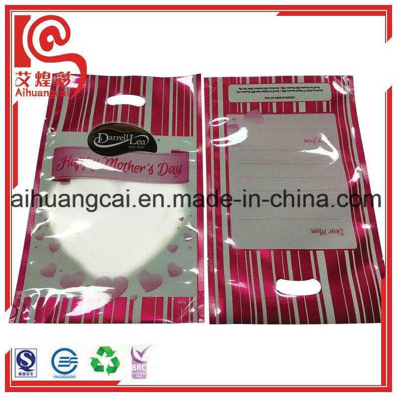 Customized Three Side Seal Ziplock Aluminum Plastic Food Bag