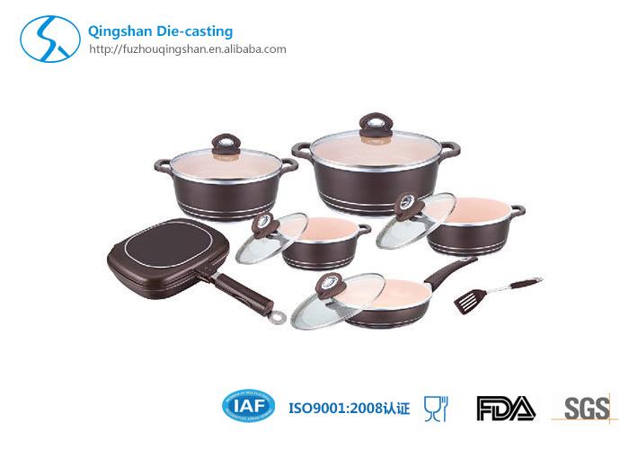 10 PCS Whitfore USA Coating Cookware Set