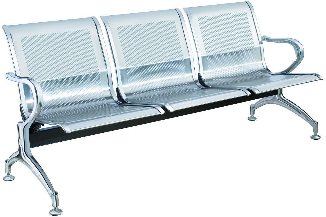 Stainless Steel Bank Hospital Airport Public Waiting Bench Chair (HX-PC305)