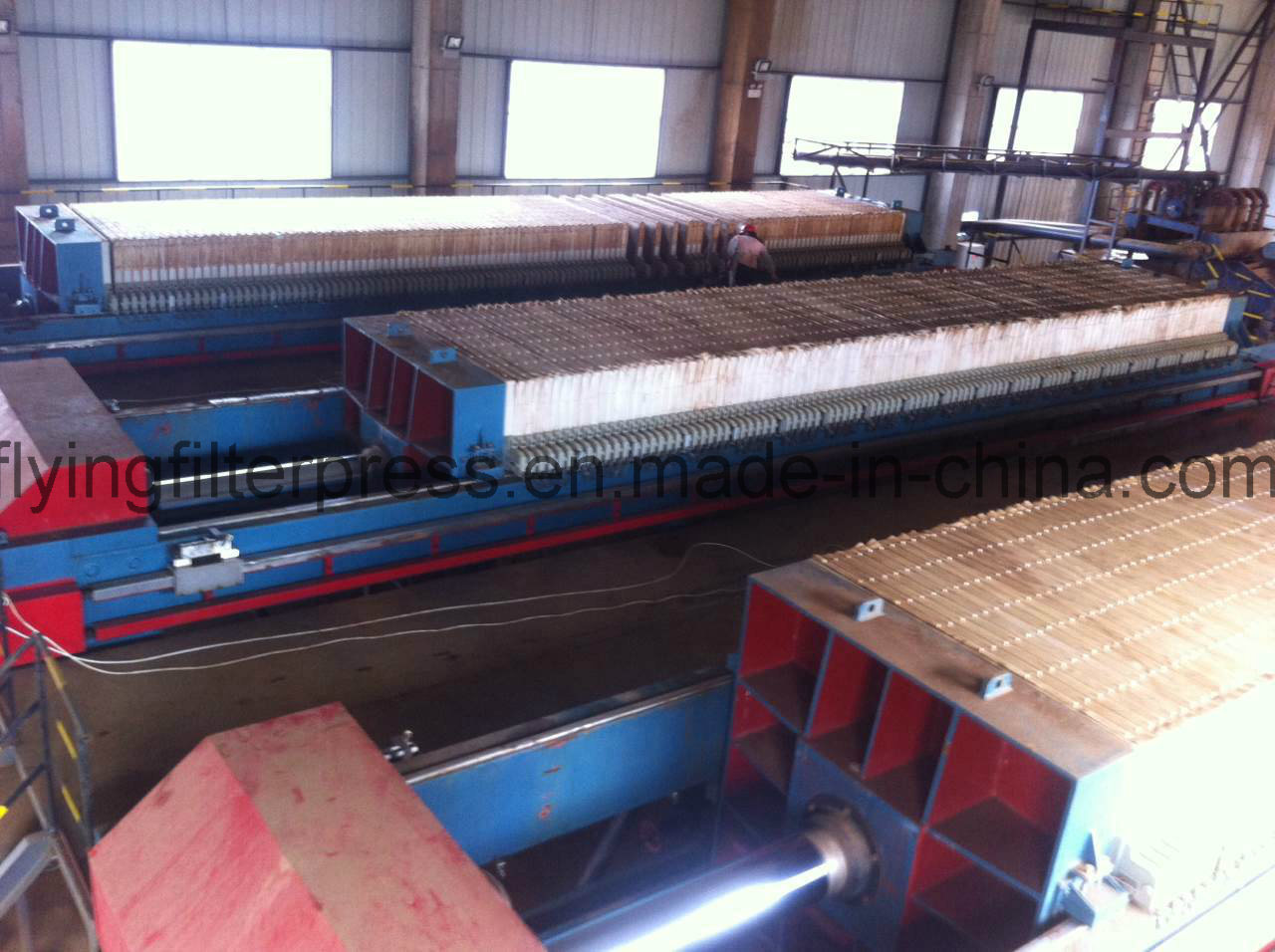 Tail Coal Filteration Filter Press Xmg200/1500