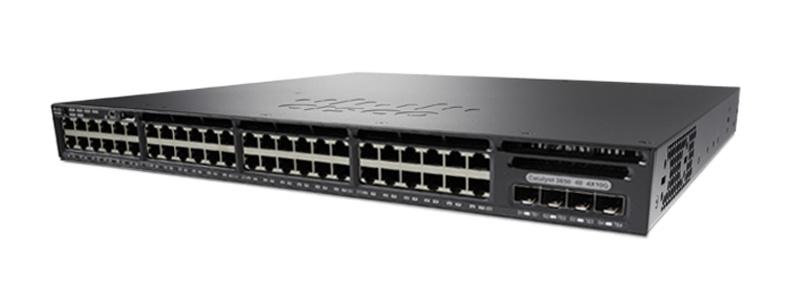 New Cisco 48 Port Gigabit Network Switch (WS-C3650-48TS-S)