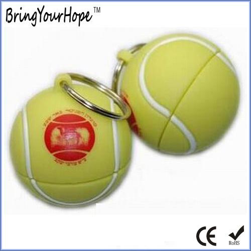 Tennis Ball PVC USB Flash Disk (XH-USB-158)