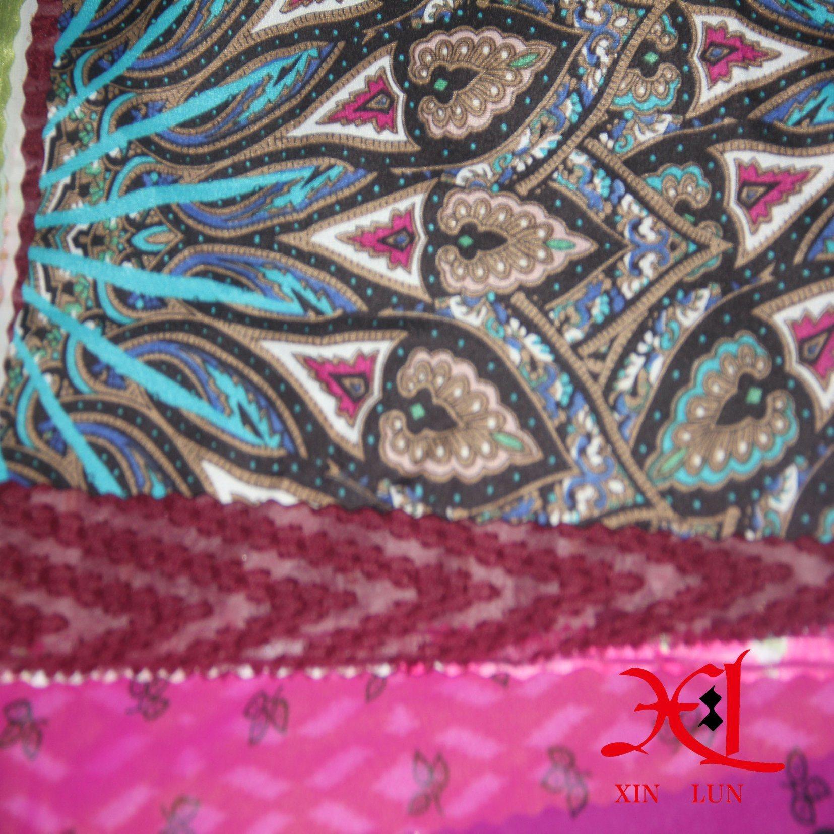 Digital Print Silk Chiffon Fabric for Dress/Hijab