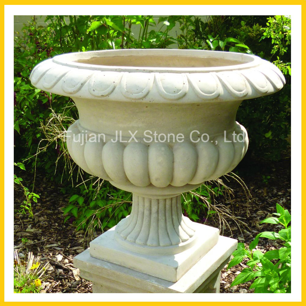 Granite and Marble Stone Flowerpot & Planter for Garden