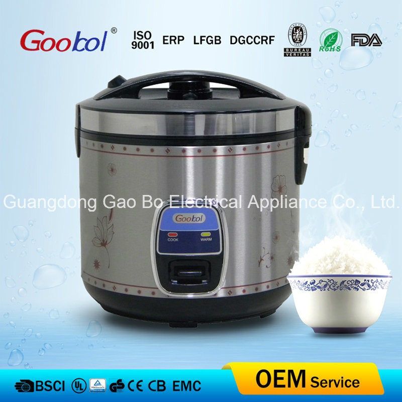 Siver Edge Control Panel Deluxe Rice Cooker