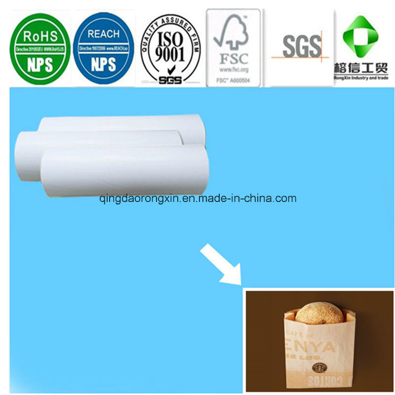 Single Side PE Coated Paper for Starbucks Bread Packaging Bag
