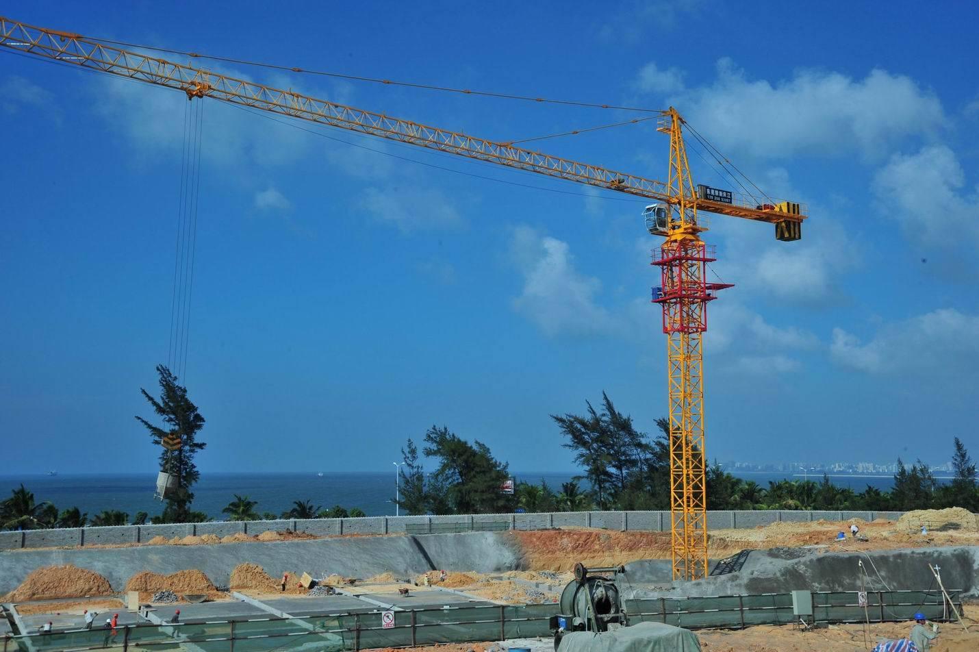 (QTZ63(TC5610)) 6t Self-Erecting Tower Crane