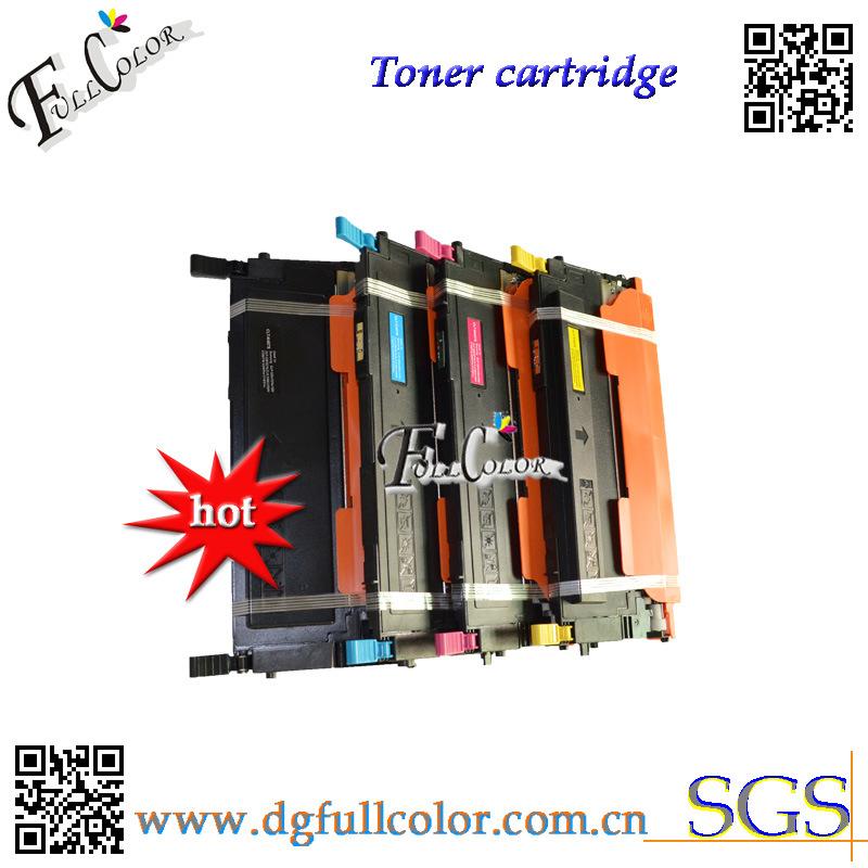 Clt-K407/C407/M407/Y407 Toner Cartridge for Samsung Clp320 Clp325 Clx3285