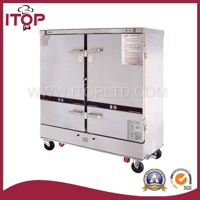 China Double Doors Gas Steamer Cabinet (GRS-24) - China Rice ...