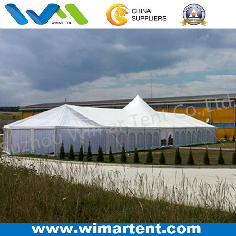 10X50m Multi Sides Outdoor Tent with High Peak