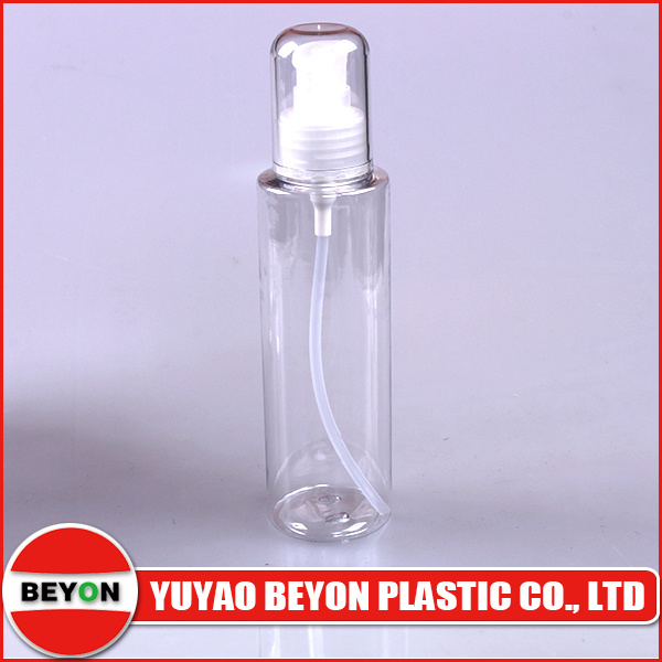 Round Pet Plastic Cosmetic Spray Bottle (ZY01-B040)
