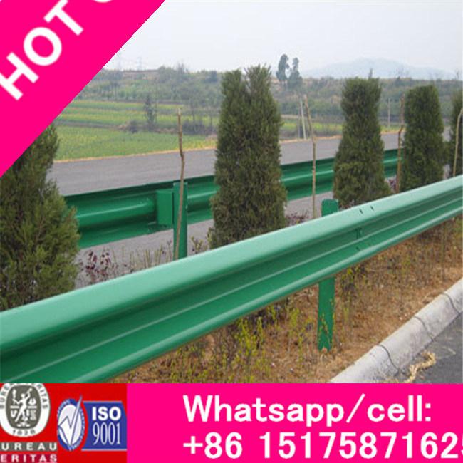 Manufacturer Two/Three Waveform Corrugated Q235 Highway Guardrail