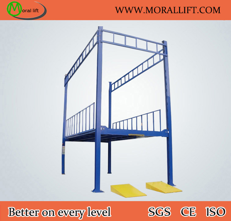 CE Approval Portable Hydraulic 4 Post Car Lift