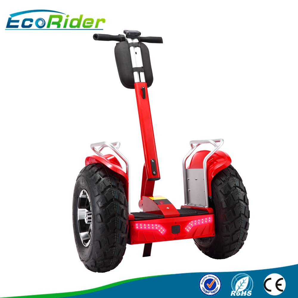 Two Wheels Electric Scooter 4000 Watt Samsung Lithium 1266wh 72V Electric Chariot Used Golf Carts