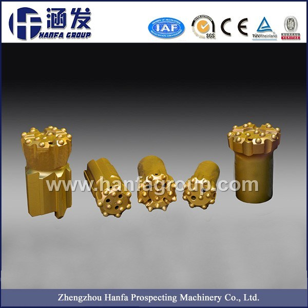 Rock Drill Button Bits for Top Hammer Drilling