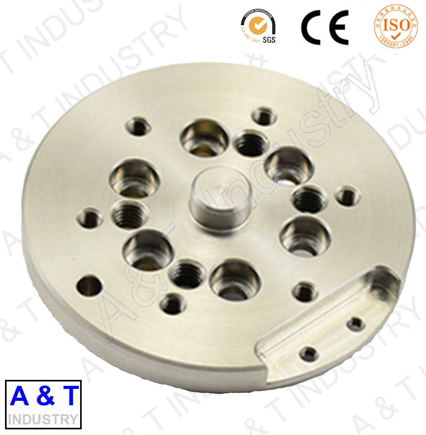 Machined Aluminum Parts, CNC Part, Central Machinery Parts