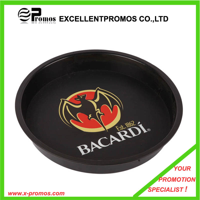 Plastic Round Bar Serving Tray (EP-T1023)