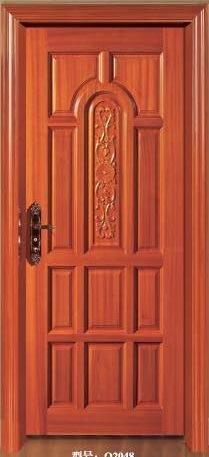 MID-East Style Solid Entrance Villa Door