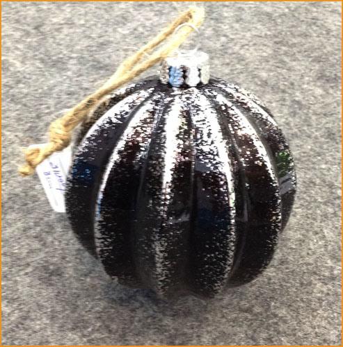 8cm Christmas Glass Ball