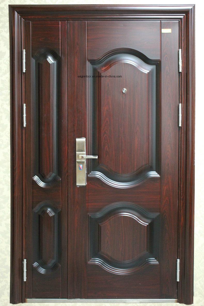 Best Price Security Exterior Steel Iron Door (EF-S007)