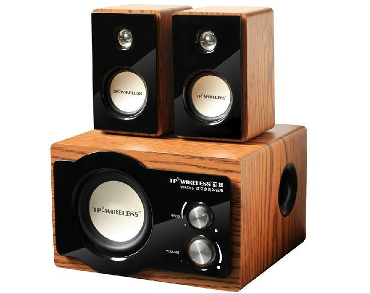 2.1 Channel Bluetooth Speaker for High Sound Quality Music Enjoyment