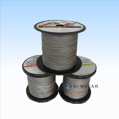 Braid Fishing Line, Supe PE Camouflage Line