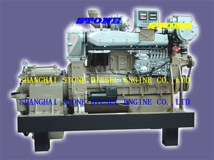 Steyr Marine Engine WD618 With Marine Gearbox