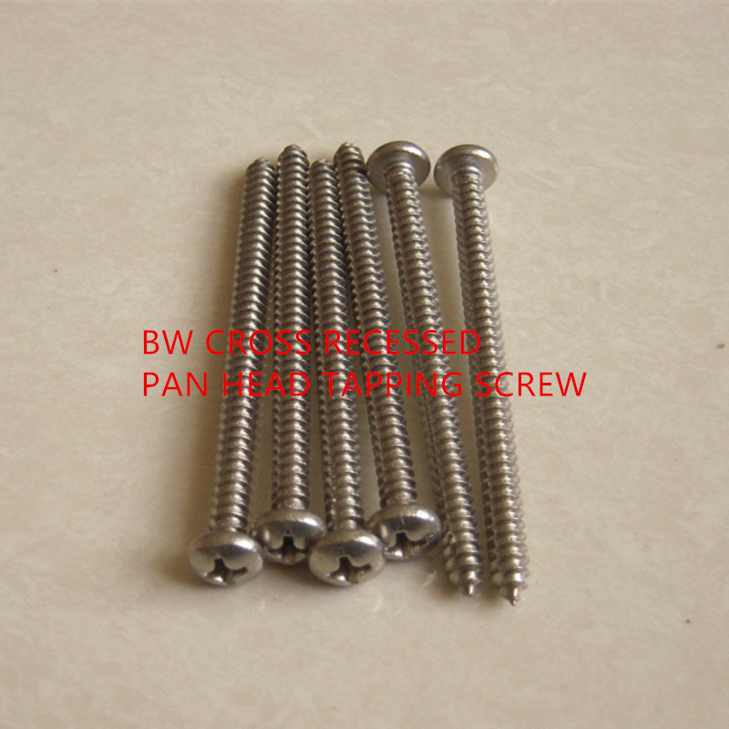 DIN7981 Cross Recessed Pan Head Tapping Screw