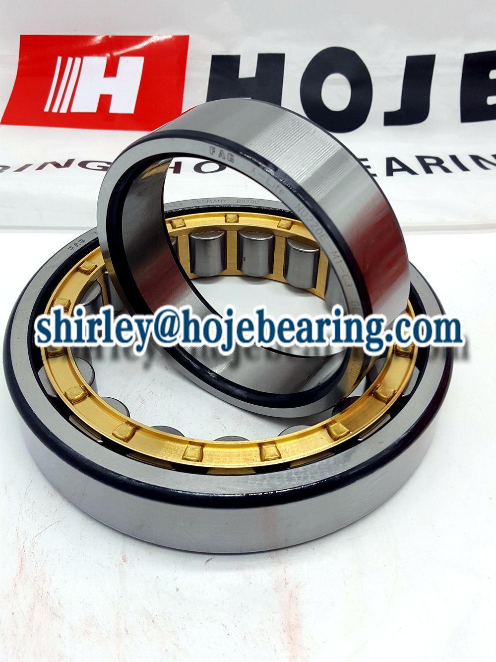 Single Row Spindle Bearing Cylindrical Roller Bearing Nu202ecp, Nj202ecp