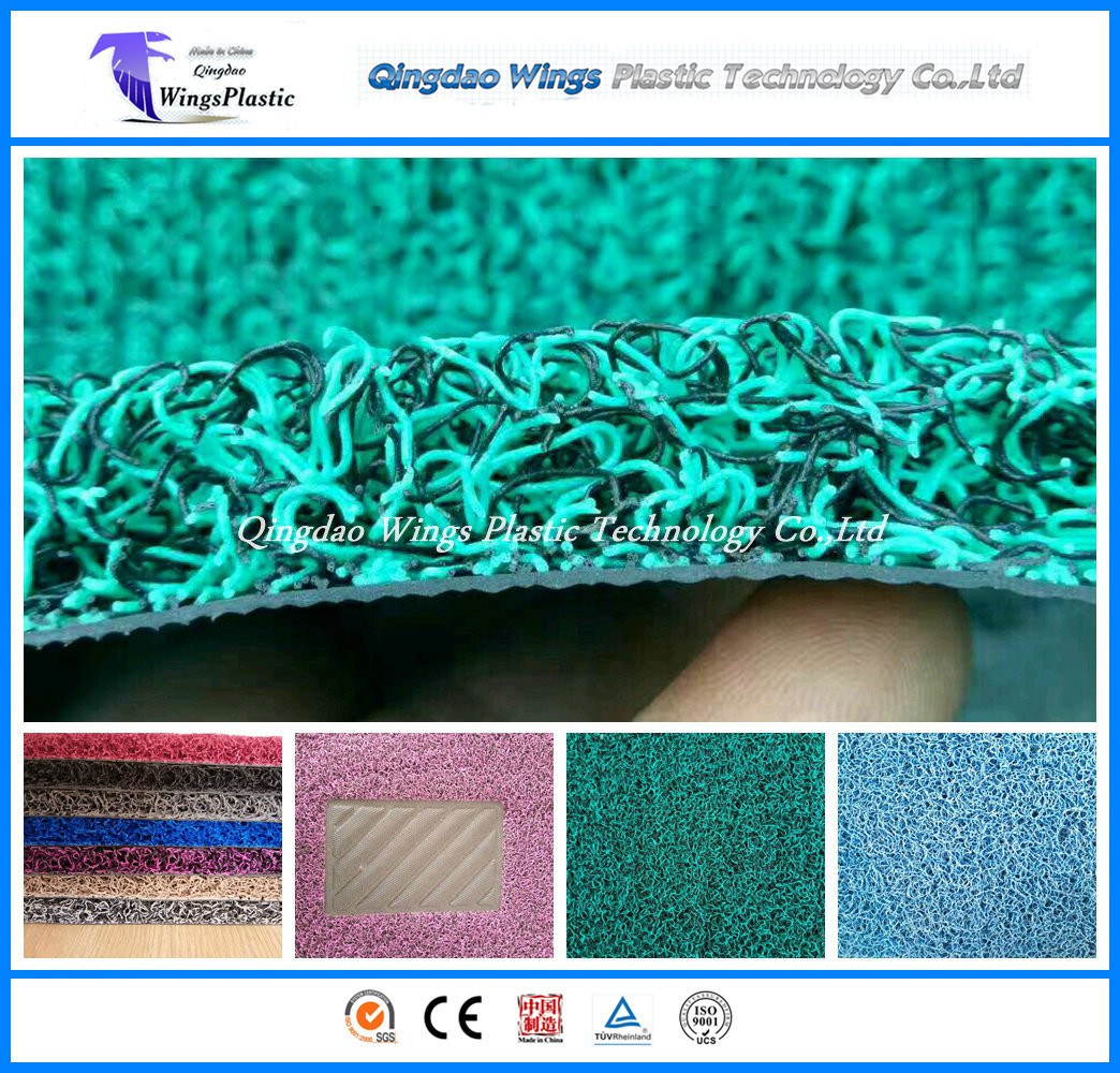 New Design PVC Coil Car Mat with Firm Backing