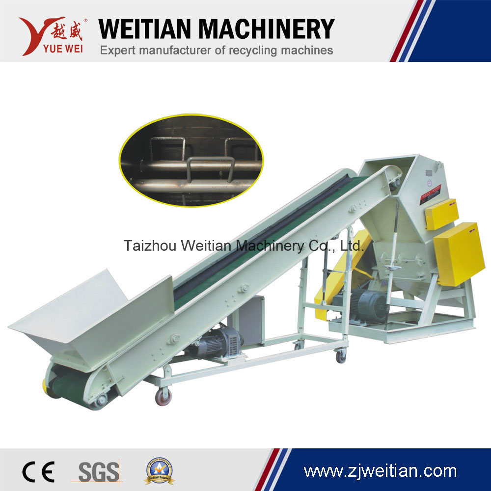 Waste Material Strong/Powerful Plastic Rubber Pet Cola Bottle PP PE Film Woven Bags Waste Cloth Wooden Wood Crusher Bucket Grinder Machine
