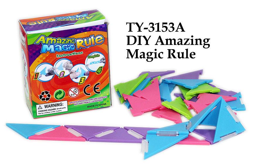Funny DIY Amazing Magic Rule Toy