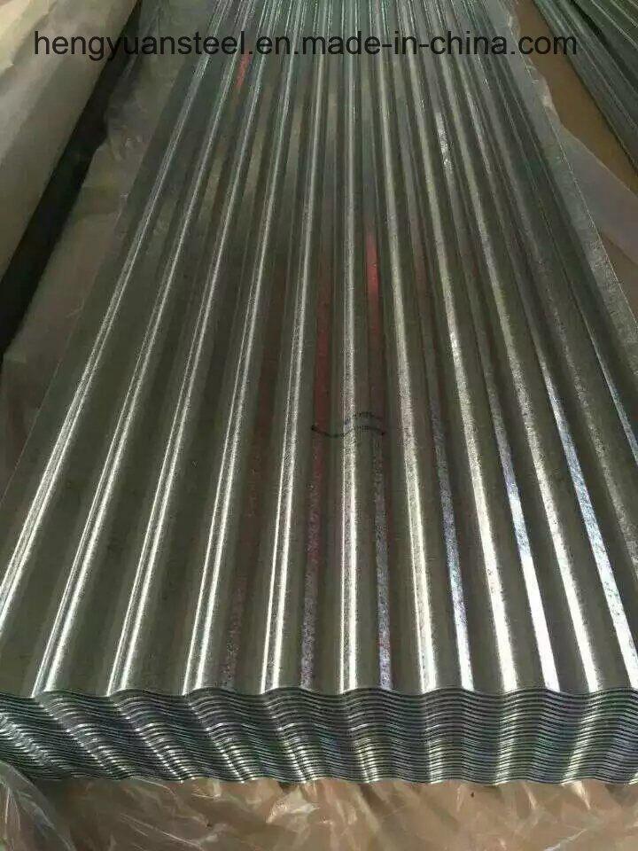 0.16mm Az30-80 Corrugated Galvalume Steel Sheet for Roof Tile