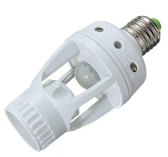 Es-B03b E27 PIR 60W Infrared Motion Sensor Lamp Holder