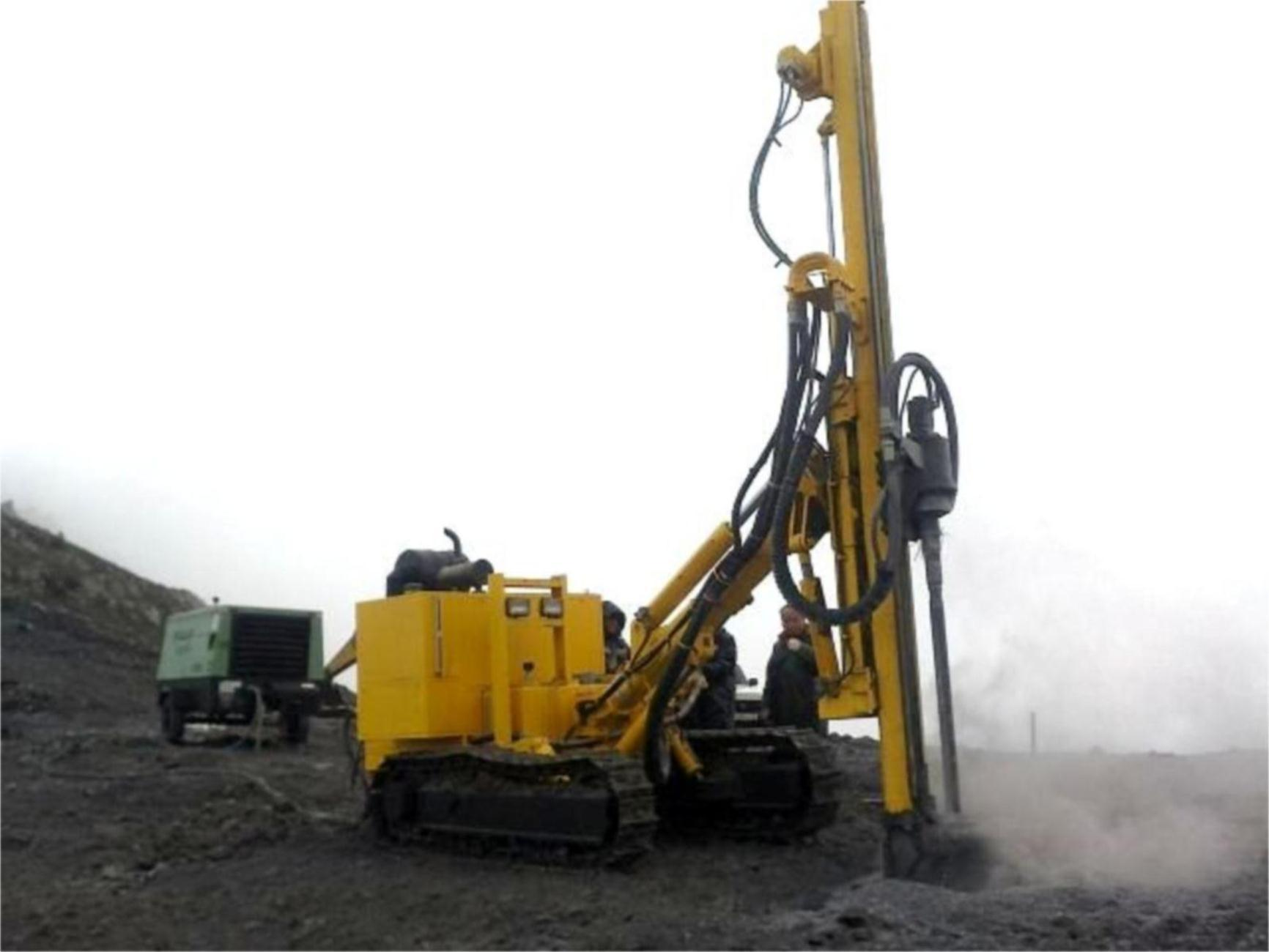 DTH Drill Rig for Surface Blasting