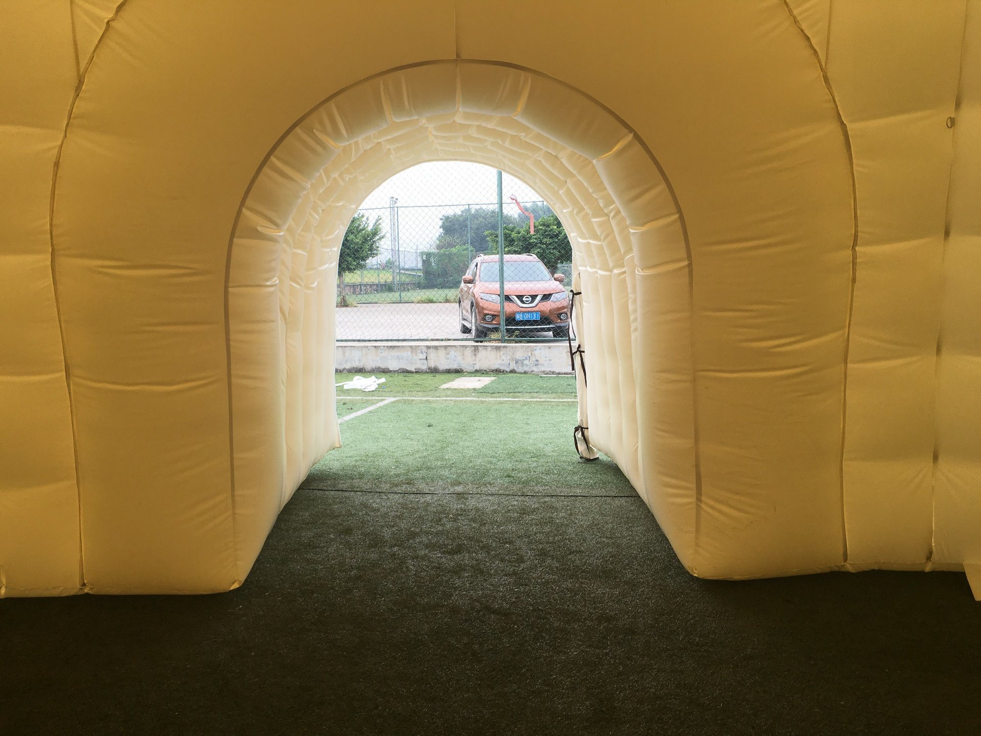Outdoor Igloo Inflatable Dome Exhibition Tent
